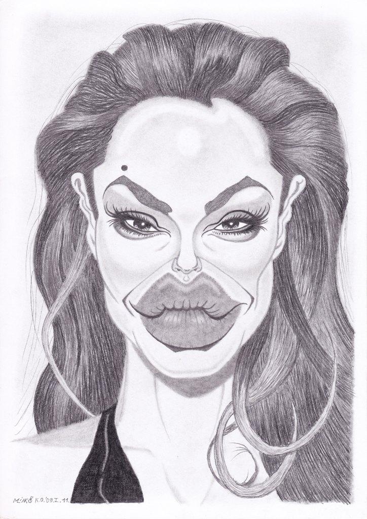 Angelina karikatúra
